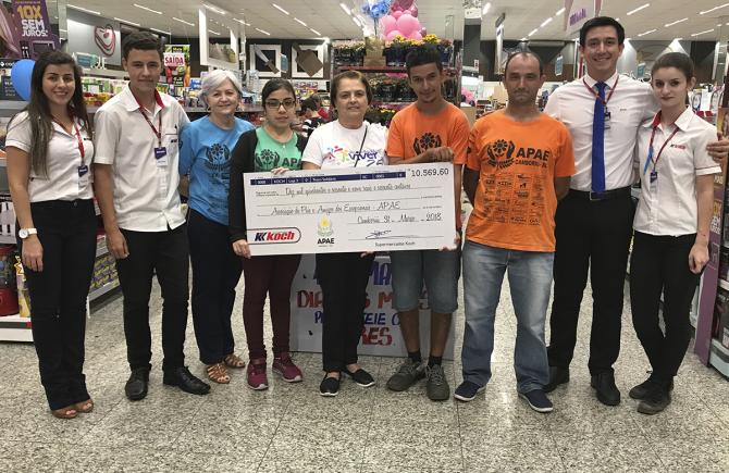 Troco Solidário e Troco do Bem - 1º Trimestre de 2018