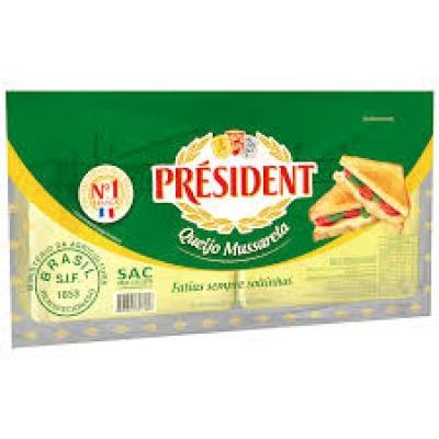 Queijo Mussarela President Fatiado 1 Kg