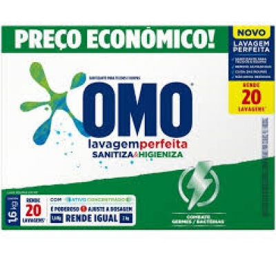 Sabao Po Omo Lavag.perf.sanitizan 1.6 Kg