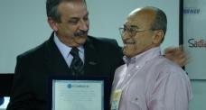Dirigentes da Fecomércio reúnem-se na Exposuper, em Joinville